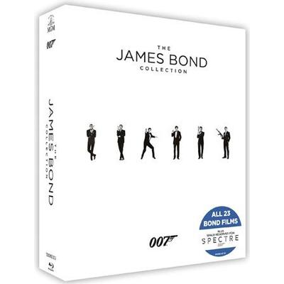 James Bond collection (23Blu-ray) (Blu-Ray 2015)