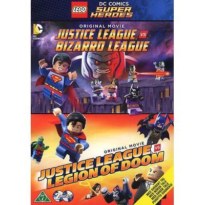 Lego Justice league x 2 (2DVD) (DVD 2015)