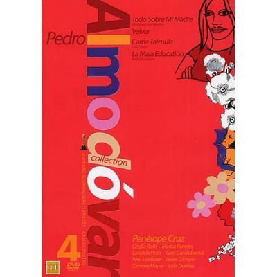 Pedro Almodovar 4-film collection - Röd (4DVD) (DVD 2014)