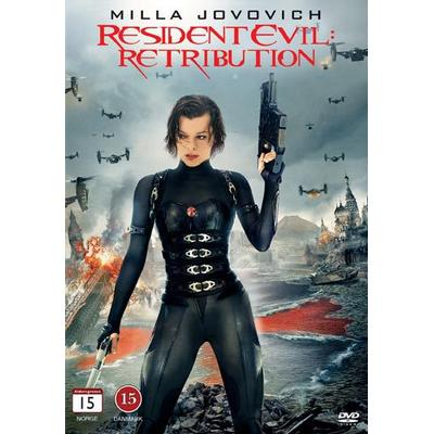 Resident Evil: Retribution (DVD) (DVD 2012)