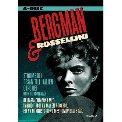 Bergman & Rossellini box - 4 Filmer (4DVD) (DVD 2015)