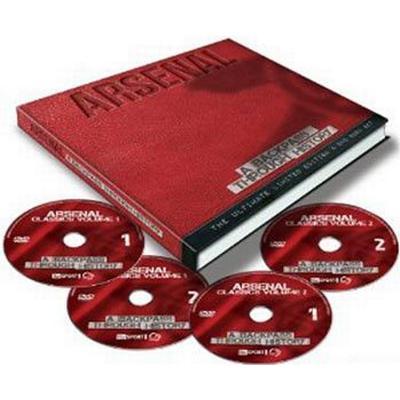 Arsenal: A backpass through history (4DVD + Bok) (DVD 2015)