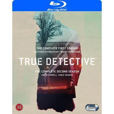 True Detective: Säsong 1-2 (6Blu-ray) (Blu-Ray 2015)