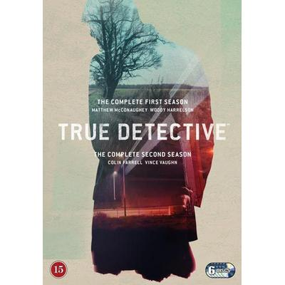 True Detective: Säsong 1-2 (6DVD) (DVD 2015)