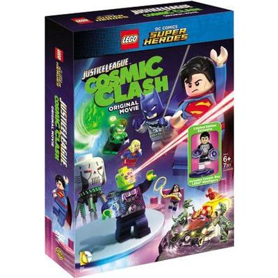 Lego - Justice league Cosmic clash + figurine (DVD) (DVD 2015)