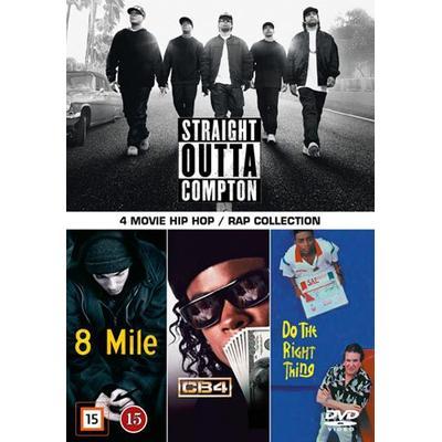 4 movie Hip-Hop: Rap collection (4DVD) (DVD 2015)