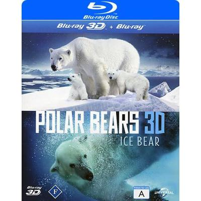 Polar bears 3D (Blu-ray 3D + Blu-ray) (3D Blu-Ray 2012)