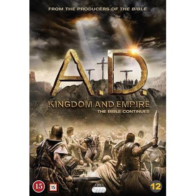 A.D. - Kingdom and Empire (4DVD) (DVD 2015)