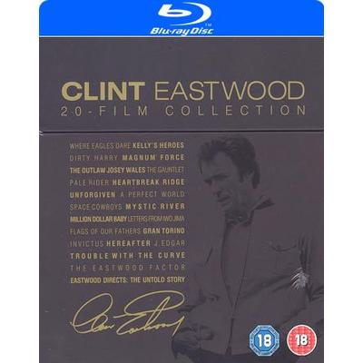 Clint Eastwood - 20 Film Collection (20Blu-ray + 2DVD) (Blu-Ray 2016)
