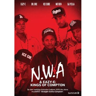 NWA & Eazy E: Kings of Compton (DVD) (DVD 2015)