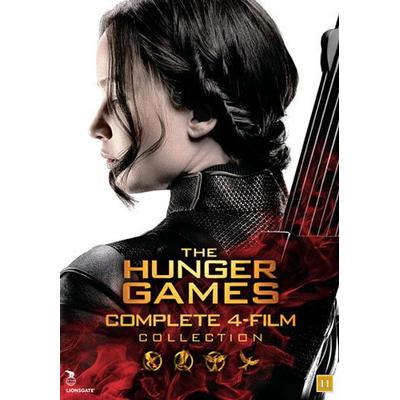 Hunger games: Complete collection (4DVD) (DVD 2016)