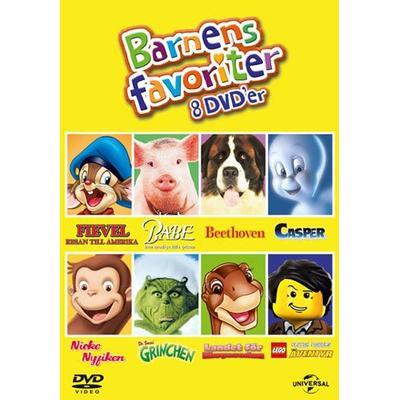 Barnens favoriter- 8 filmer (8DVD) (DVD 2016)