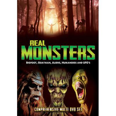 Real Monsters: Bigfoot, Goatman, Aliens... (2DVD) (DVD 2016)