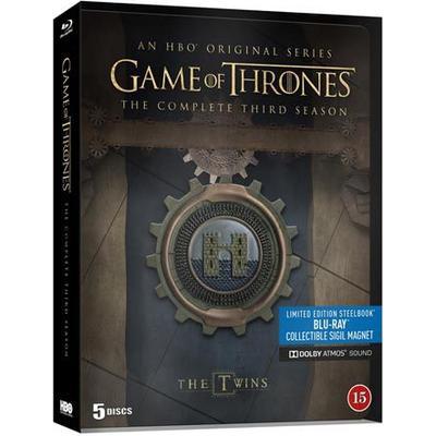 Game of thrones: Säsong 3 - Steelbook (5Blu-ray) (Blu-Ray 2013)