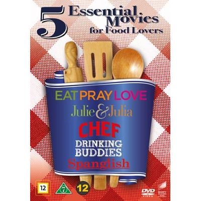 Movies for food lovers - 5 filmer (5DVD) (DVD 2016)