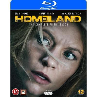 Homeland: Säsong 5 (3Blu-ray) (Blu-Ray 2015)