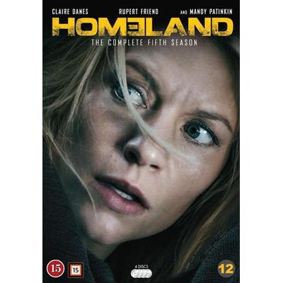 Homeland: Säsong 5 (4DVD) (DVD 2015)