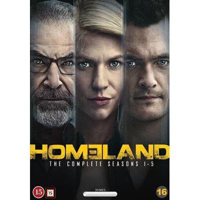 Homeland: Säsong 1-5 (20DVD) (DVD 2016)