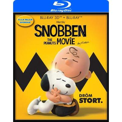 Snobben - Filmen 3D (Blu-ray 3D + Blu-ray) (3D Blu-Ray 2015)