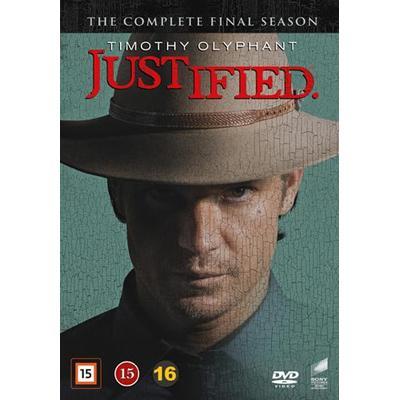 Justified: Säsong 6 (3DVD) (DVD 2015)
