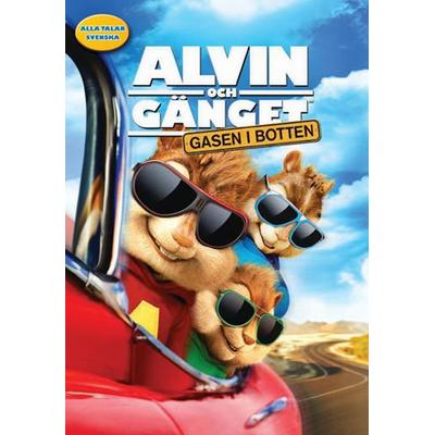 Alvin och gänget 4: Gasen i botten (DVD) (DVD 2015)