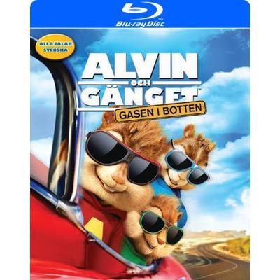 Alvin och gänget 4: Gasen i botten (Blu-ray) (Blu-Ray 2015)