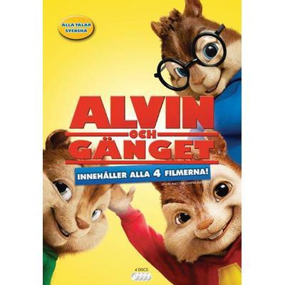Alvin och gänget 1-4 Box (4DVD) (DVD 2016)