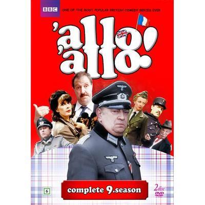 Allo allo!: Säsong 9 (Nyaste utgåvan) (2DVD) (DVD 2016)