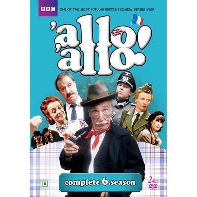 Allo allo!: Säsong 6 (Nyaste utgåvan) (2DVD) (DVD 2016)