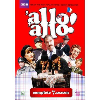 Allo allo!: Säsong 7 (Nyaste utgåvan) (2DVD) (DVD 2016)