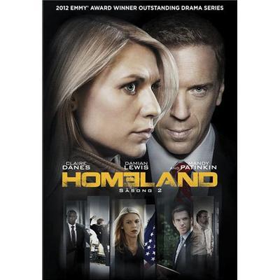 Homeland: Säsong 2 (4DVD) (DVD 2012)