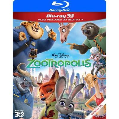 Zootropolis 3D (Blu-ray 3D + Blu-ray) (3D Blu-Ray 2016)