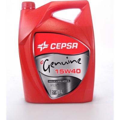 Cepsa Genuine 15W-40 Motorolie