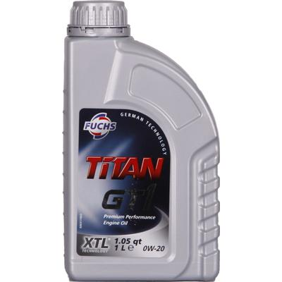 Fuchs Titan GT 1 0W-20 Motorolie