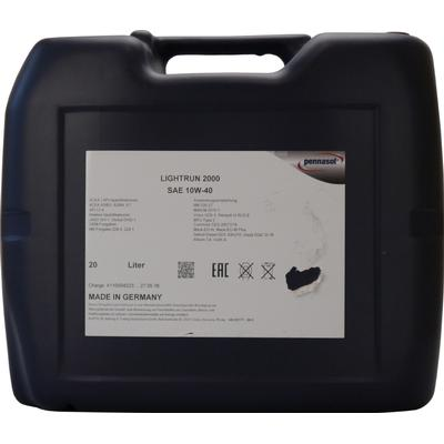 Pennasol Lightrun 2000 10W-40 Motorolie