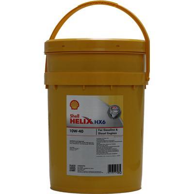 Shell Helix HX6 10W-40 Motorolie
