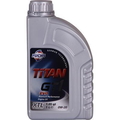 Titan GT1 EVO 0W-20 Motorolie
