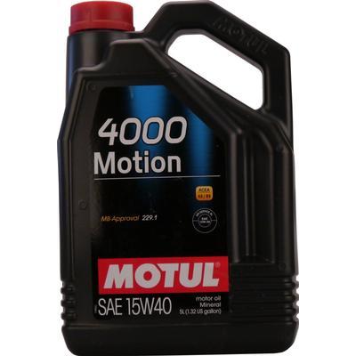 Motul 4000 Motion 15W-40 Motorolie