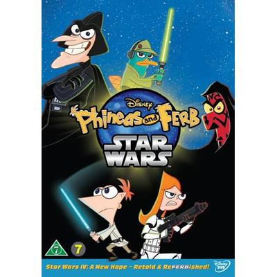 Phineas and Ferb: Star Wars (DVD) (DVD 2014)
