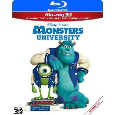 Monsters University 3D (Blu-ray 3D + 2Blu-ray) (3D Blu-Ray 2013)