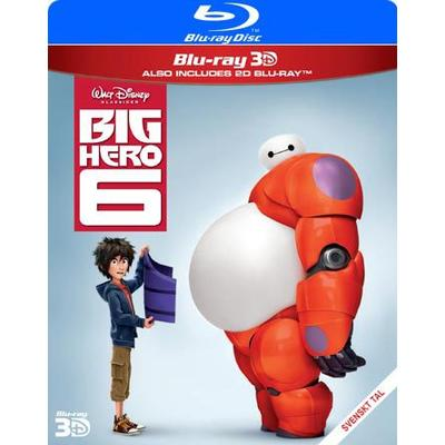Big Hero 6 3D (Blu-ray 3D + Blu-ray) (3D Blu-Ray 2015)