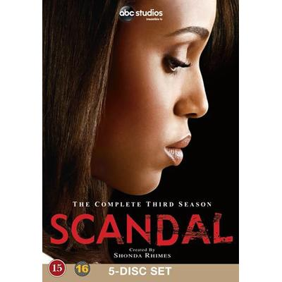 Scandal: Säsong 3 (5DVD) (DVD 2014)