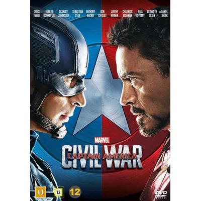 Captain America 3: Civil war (DVD) (DVD 2016)