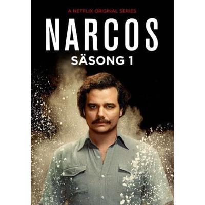 Narcos: Säsong 1 (5DVD) (DVD 2015)