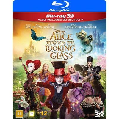 Alice i Spegellandet 3D (Blu-ray 3D + Blu-ray) (3D Blu-Ray 2016)
