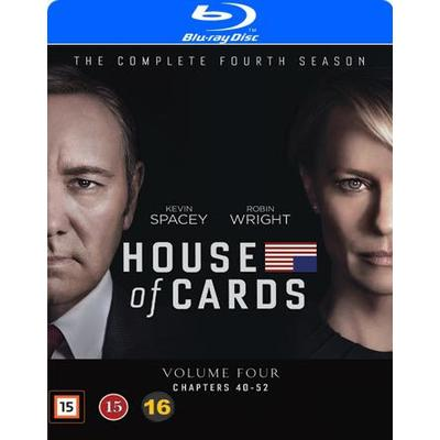 House of cards: Säsong 4 (4Blu-ray) (Blu-Ray 2016)