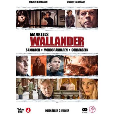 Wallander vol 11 - 3 filmer (2DVD) (DVD 2012)