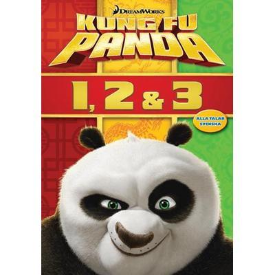 Kung Fu Panda 1-3 Box (3DVD) (DVD 2016)