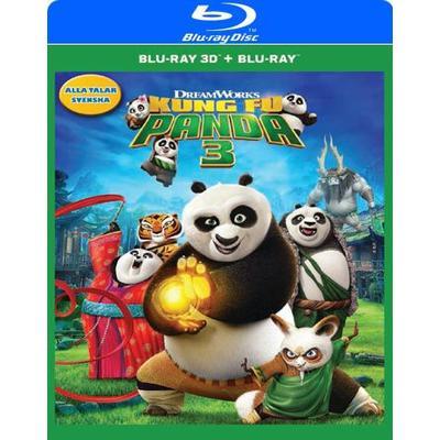 Kung Fu Panda 3 3D (Blu-ray 3D + Blu-ray) (3D Blu-Ray 2016)