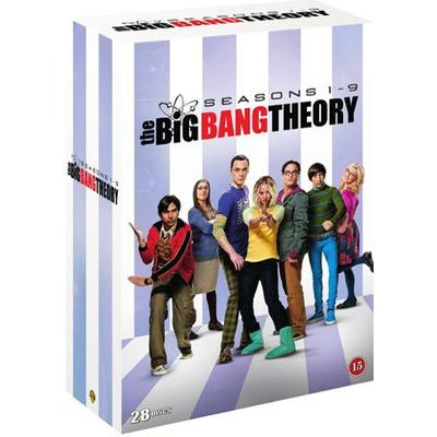 Big bang theory: Säsong 1-9 (28DVD) (DVD 2016)